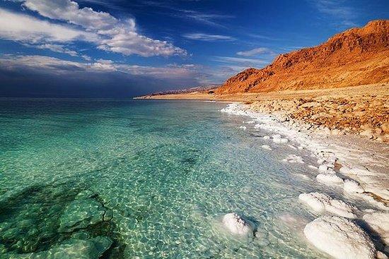 Tour de la mer Morte depuis le port...