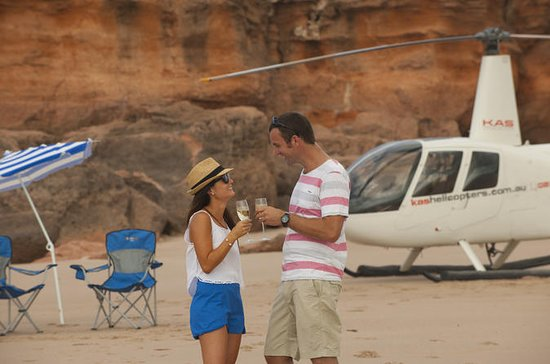 Broome Helicopter Flight with a...