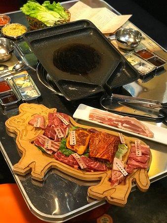 置身韓國一樣的燒肉放題