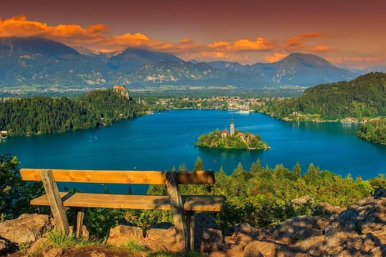 Excursion à terre au lac de Bled et à...