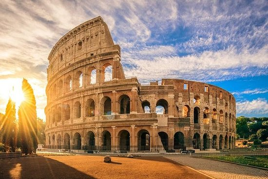 Kleine Gruppe, Colosseum ohne...