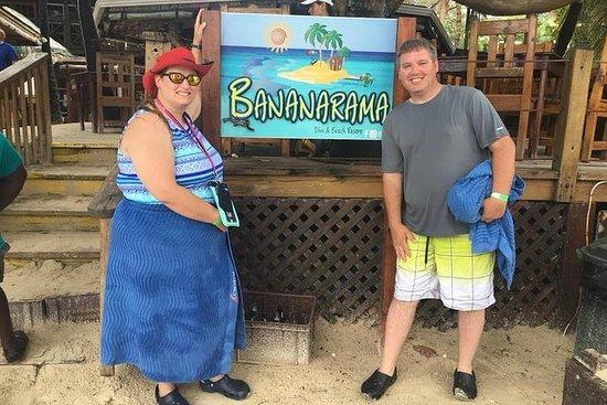 Roatan Shore ekskursjon: Bananarama...