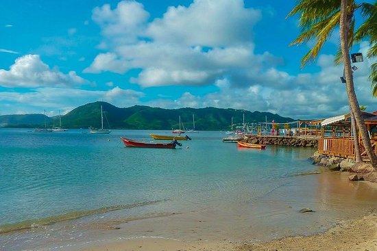 Excursión por la costa de Martinica...