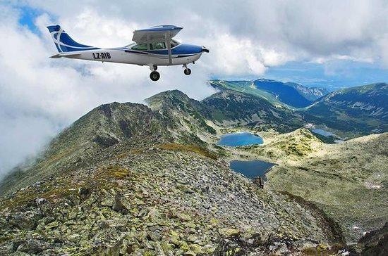 Vol panoramique sur les lacs de Rila