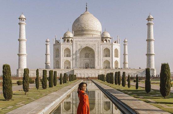 Taj Mahal e Agra Tour de carro de Delhi