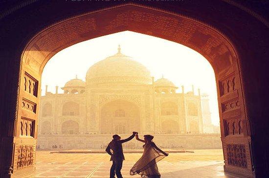 Tour Privado Sunrise Taj Mahal de Delhi