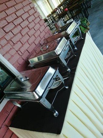 Kuala Sungai Baru, Malaysia: Buffet break fast only for 6 of us at laman guesthouse. Awesome!