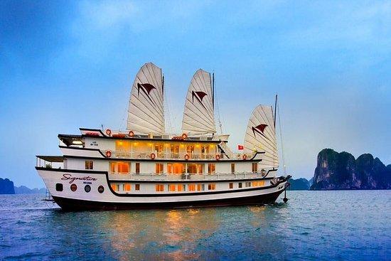Croisière de luxe dans la baie...