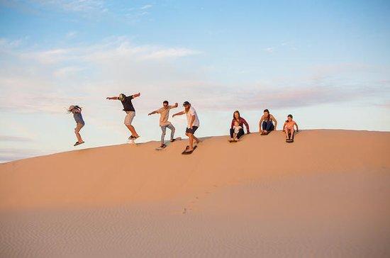 Unbegrenztes Sandboarding