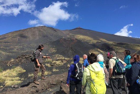 早上游覽埃特納火山/埃特納火山早上游