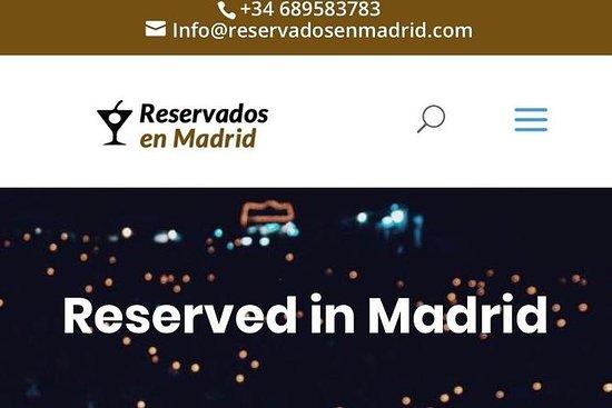 Fest i Madrid med beste steder og...
