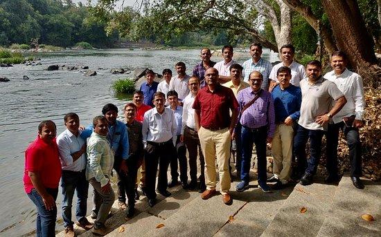 Hotel Mayura Riverview Srirangapatna: VK team had a great conference