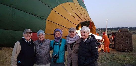 Time for air  balloon