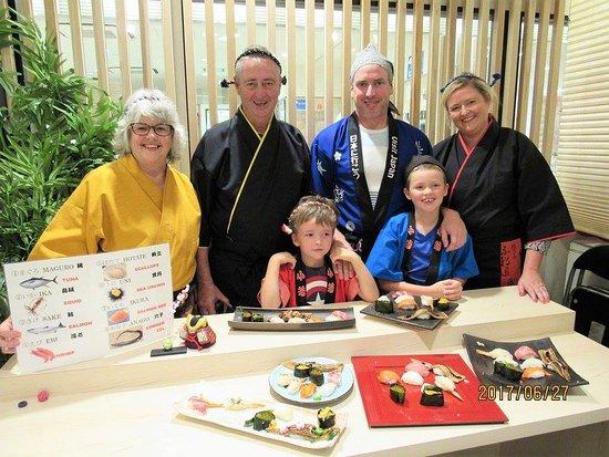 Kyoto Umemori Sushi School