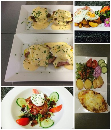 The bay tree cafe: A few ofriends our most popular dishes.