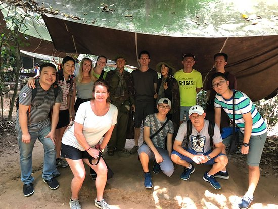 Cu Chi Tunnels group