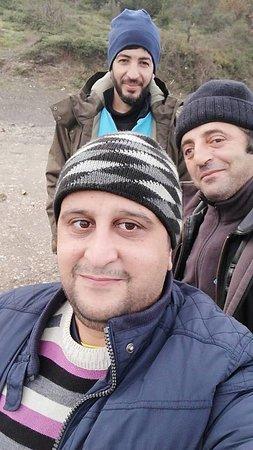 Omerli, Turska: levrek avı arkadaşlarla