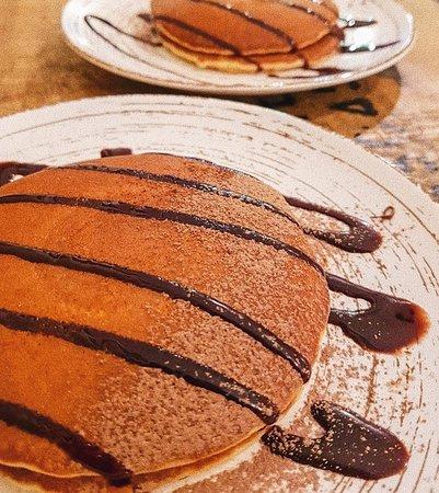 Pancakes de nutella