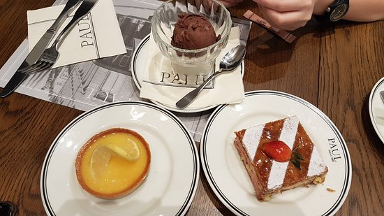 Paul Bakery: Desserts and ice cream