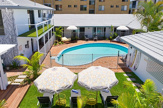 Gold Coast, Australia: Boutique Motel in Mermaid Beach