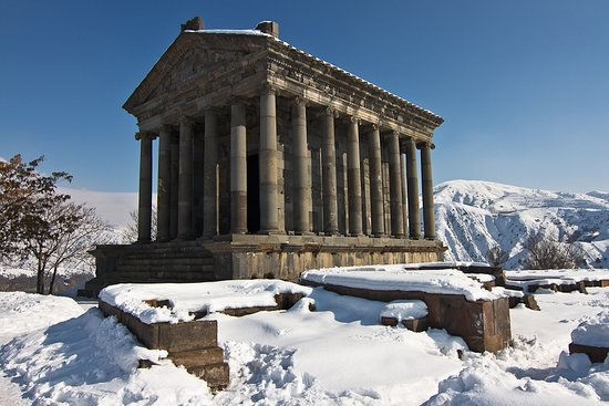 Temple of Garni – the only pagan temple in #Armenia Armenia is an ancient country, and during its existence, Armenian went through different epochs, and before adopting Christianity, the ancient Armenian pagan religion dominated in the country. And today the only evidence of pagan Armenia is the temple of #Garni. #Tourism #Travel #Armadventure