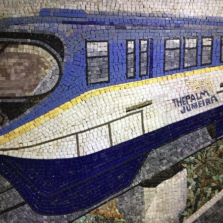 朱美拉棕榈人工岛单轨铁路
