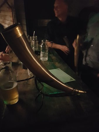Mjolner: beer from a horn