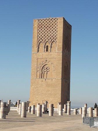 Sahara Desert Excursions: hasa Tower, Rabat