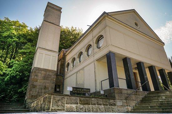 Χάγκεν, Γερμανία: Krematorium von Peter Behrens in Hagen-Delstern