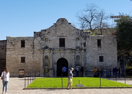 San Antonio, TX: Compared to the high-rises and modern buildings around it, it's a small place. Now imagine it's the tallest building in the landscape, and it becomes living history.