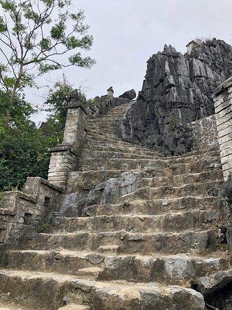 500 steps close-up