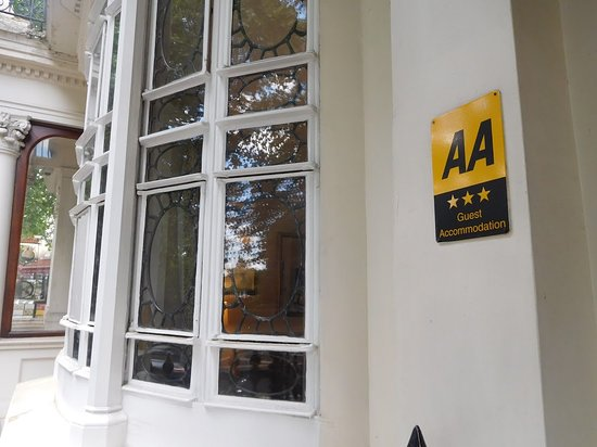 Three star Gold AA awarded hotel