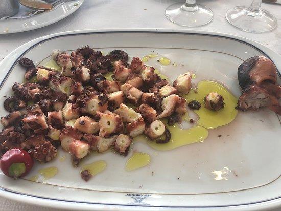 Restaurante Los Abrigos: Pulpo