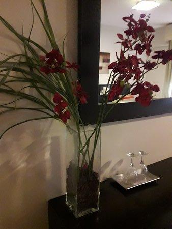 Detalle floral. Artificial.