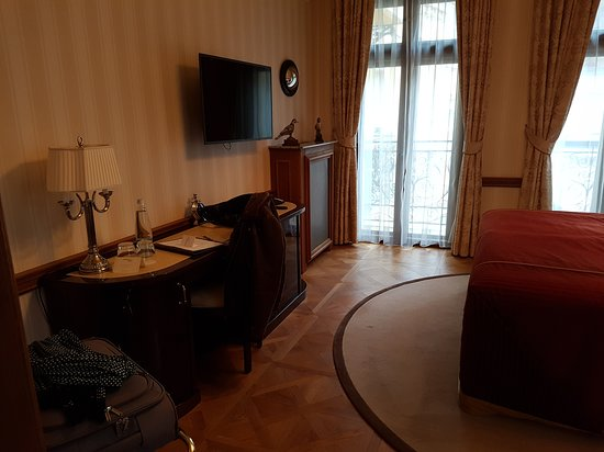 Quisisana Palace : Vista de la habitación