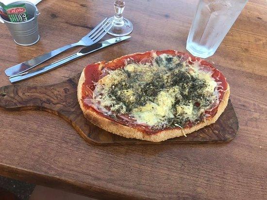 Bastia, France: Bruschette jambon/fromage