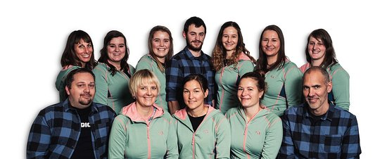 Engelberg, Schweiz: Team Quattro