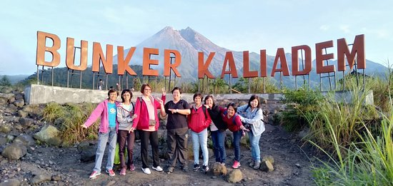 Visit several view point around Mt. Merapi volcano