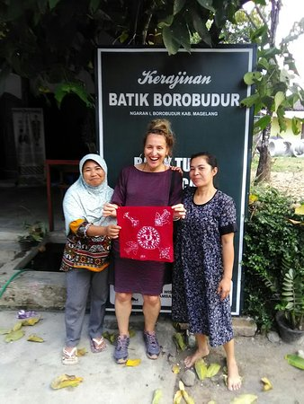 Making batik, short course of Batik painting