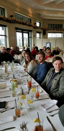 We had 29 family members attend a Celebration of Life luncheon.