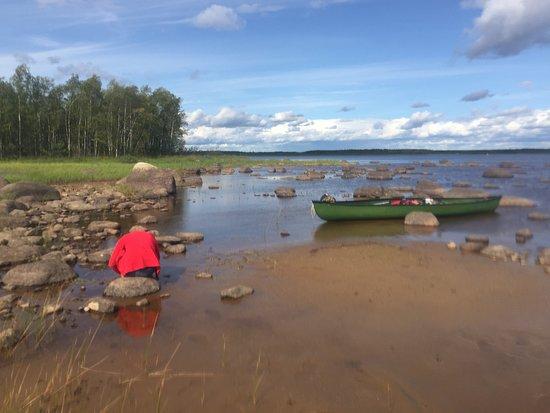 Ilomantsi, Finlandia: Lunch break