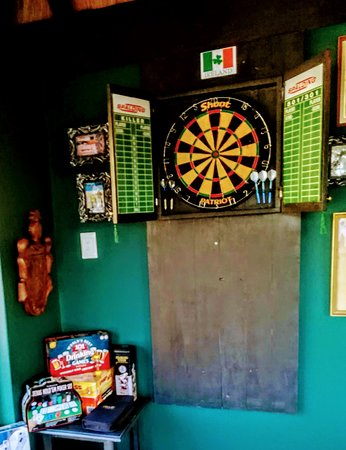 Kloof, Sydafrika: Dart and other board games