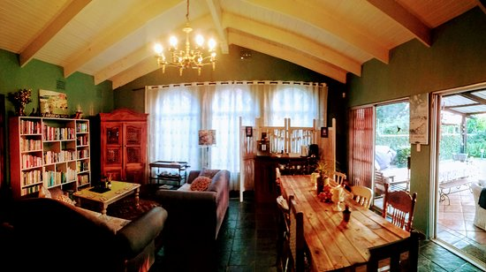 Kloof, Sydafrika: Dining Room and Library