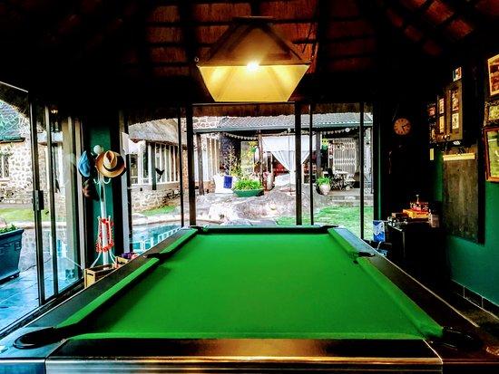 Kloof, Sydafrika: Pool Table