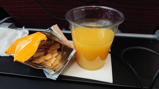 Japan Airlines (JAL): Snack.