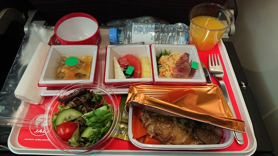 Japan Airlines (JAL): Supper.