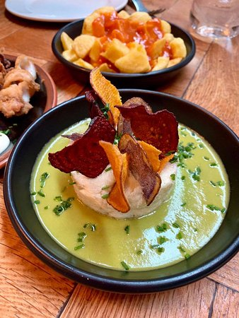 Iberica Manchester: Cod- I wasn't expecting this to be chilled. Too fishy for me!