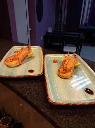 wild shrimps