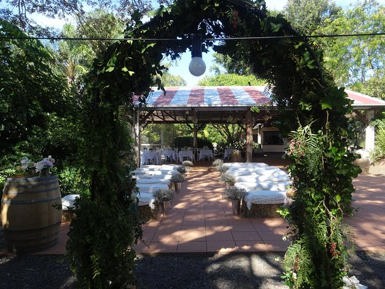 Amazing ceremony areas......the possibilities are endless!