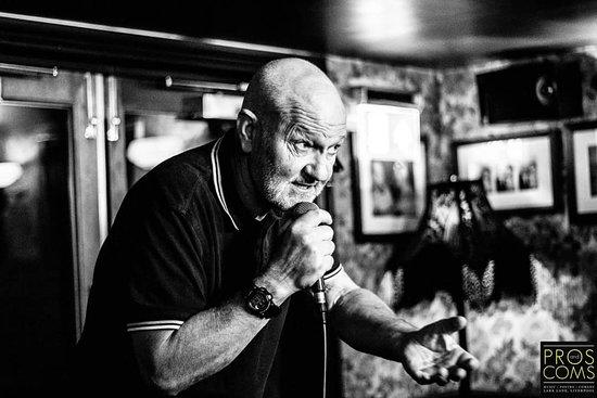 Comedian Kevin Caswell-jones